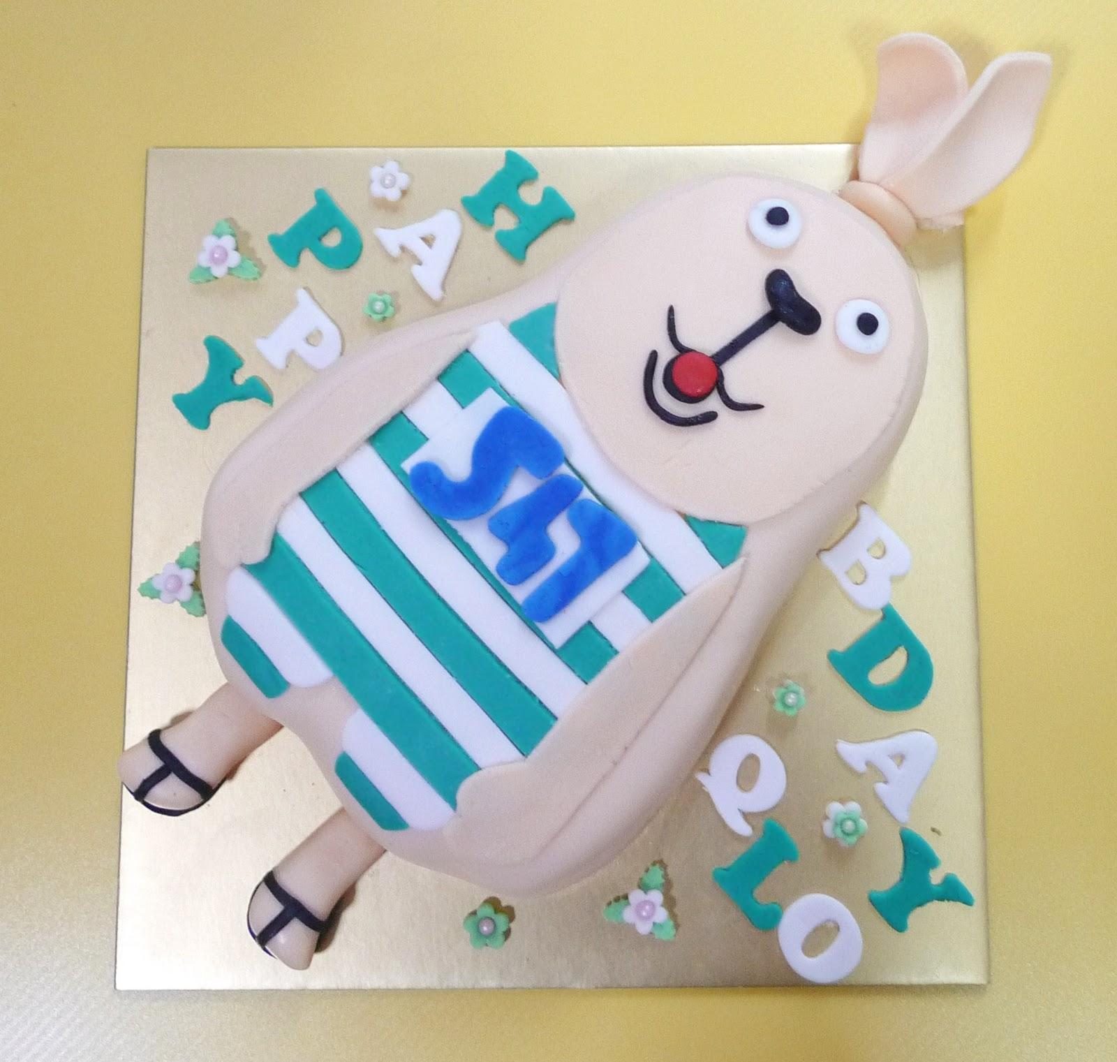 Prison Rabbit Cake