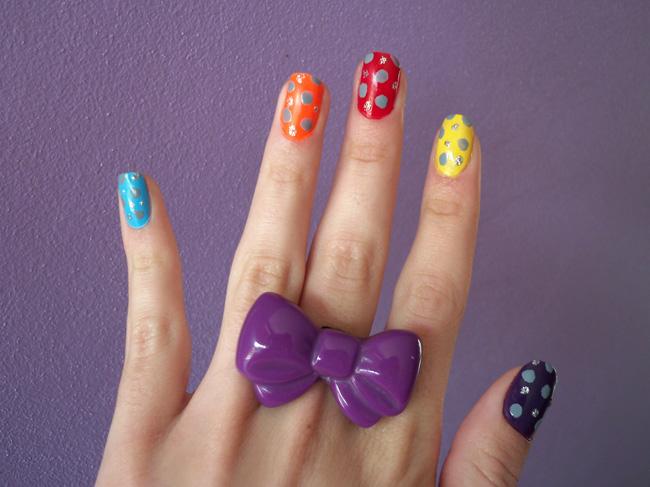 nails nail primavera e divertimento, Glamour Texturas