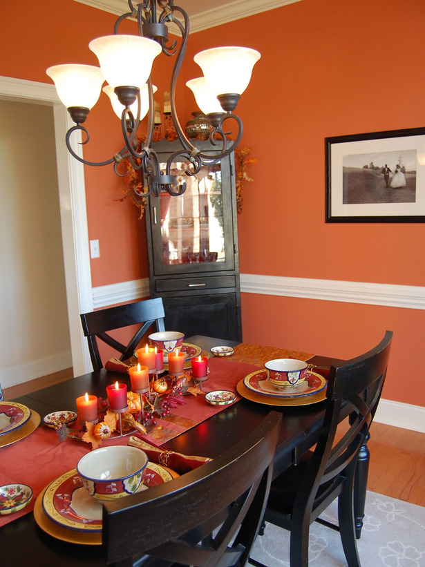 Modern furniture thanksgiving table settings decoration - Dinner table decoration ideas ...