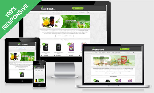 OKEherbal Blogger Template