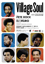 11/7(Fri) Village Soul w Pete Rock and Special Guest DJ Muro alongside Deadly Dragon Sound@The 303