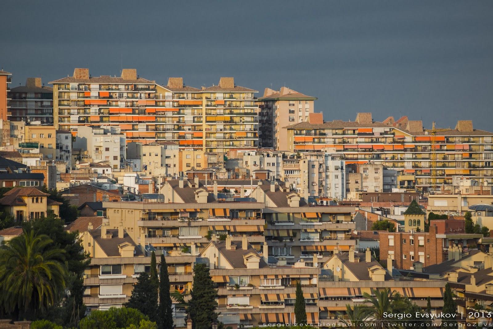 Жилые дома в Барселоне
