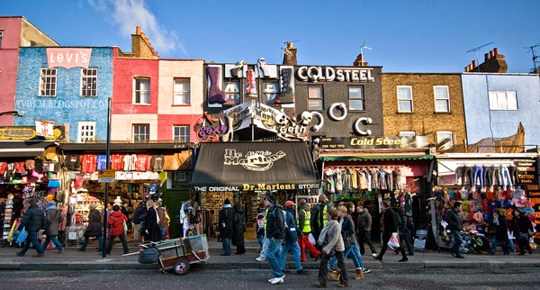 Coldsteel and Dr.Mariens store camden town