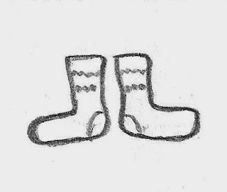Socks source drawing