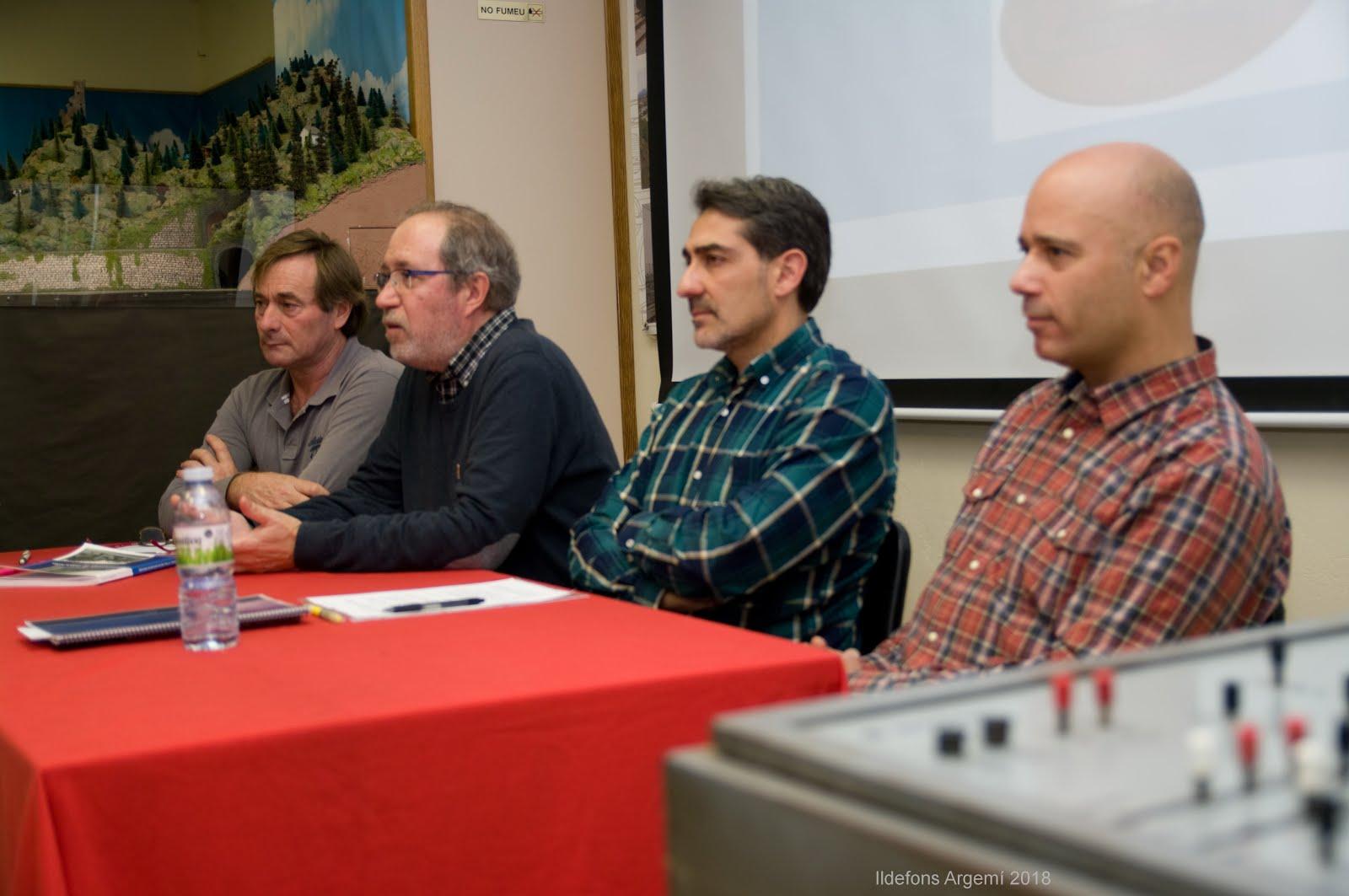 37 aniversari de la creació del Club Ferroviari de Terrassa