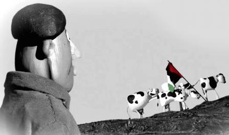 As 18 vacas leitieras declaras risco de segurança para Israel