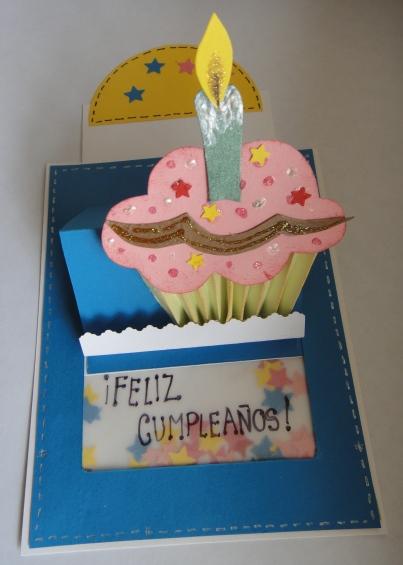 Tarjeta de cumpleaños en foami - Imagui