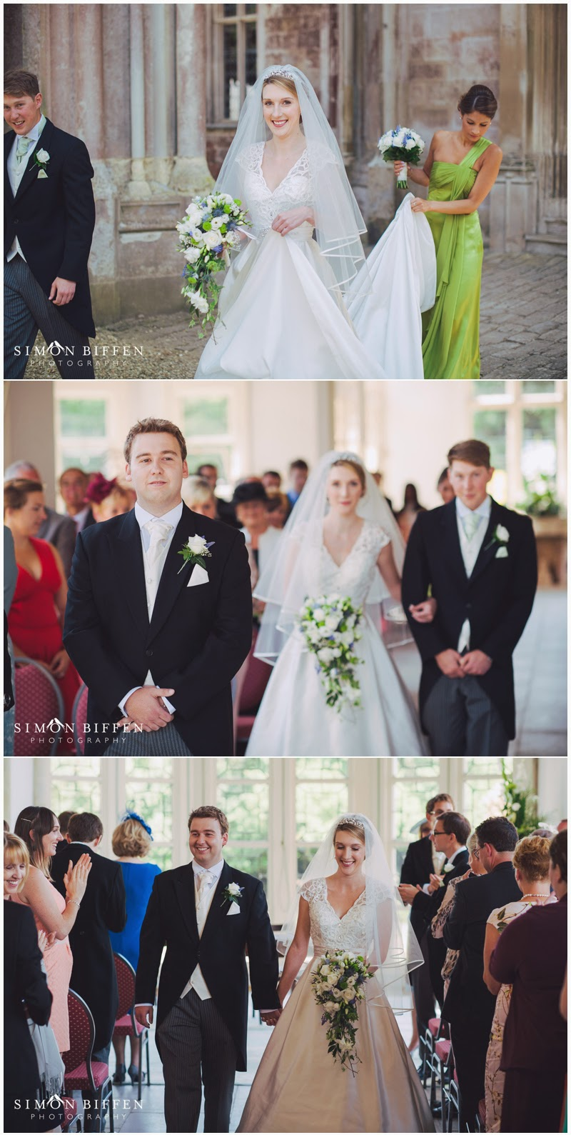 Wedding ceremony Highcliffe Castle