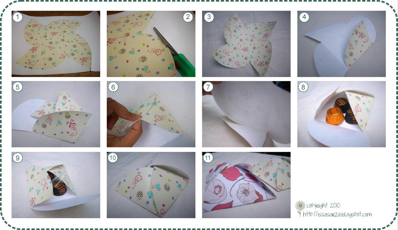 Enrhedando manualidades - Envolver regalos con papel de seda ...