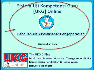 Pengopersian UKG Online 2015