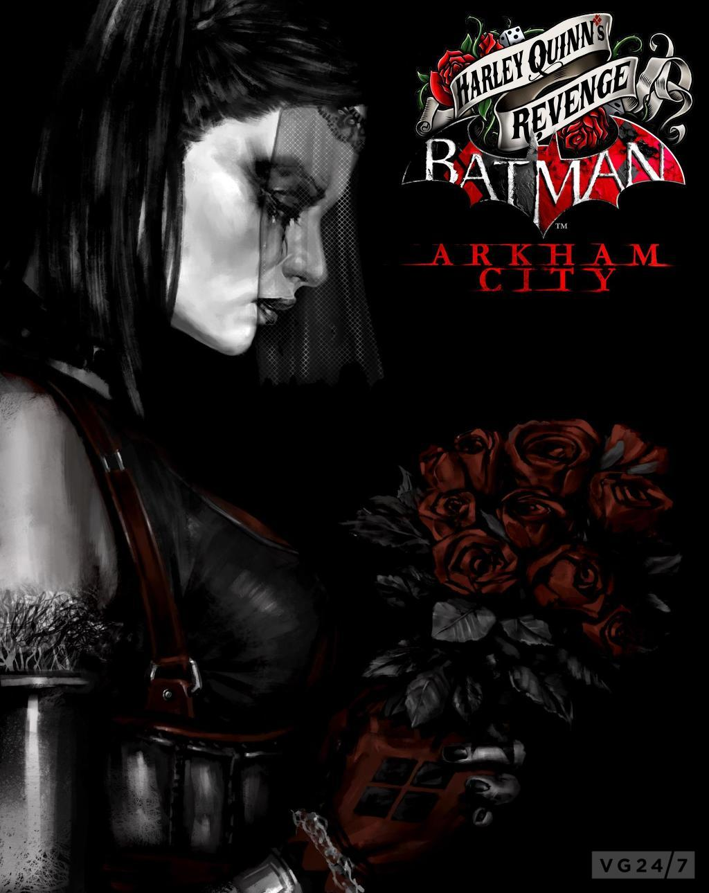 BATMAN ARKHAM CITY HARLEY QUINNS REVENGE DLC | ALL PC FAST ...