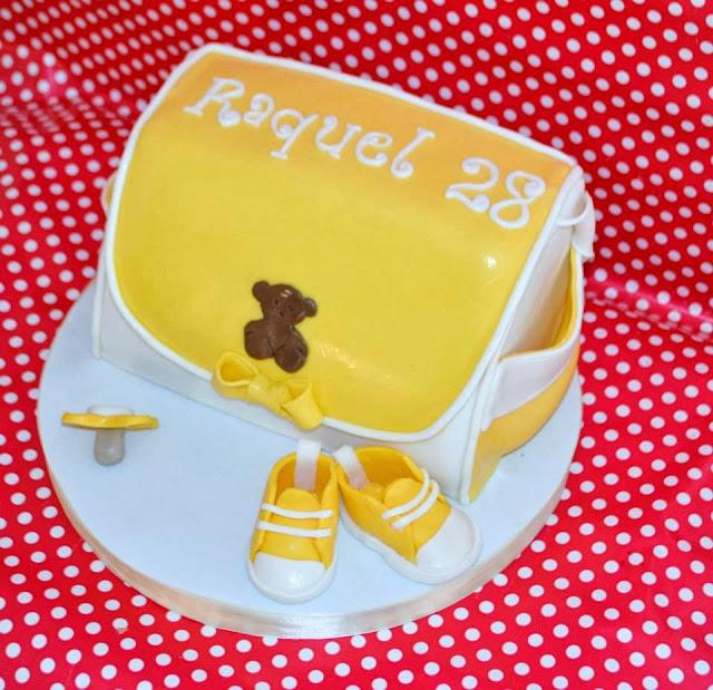 Tarta Bolsso Cambiador Bebe Tous sugar dreams Gandia zapatito converse chupete diaper bag