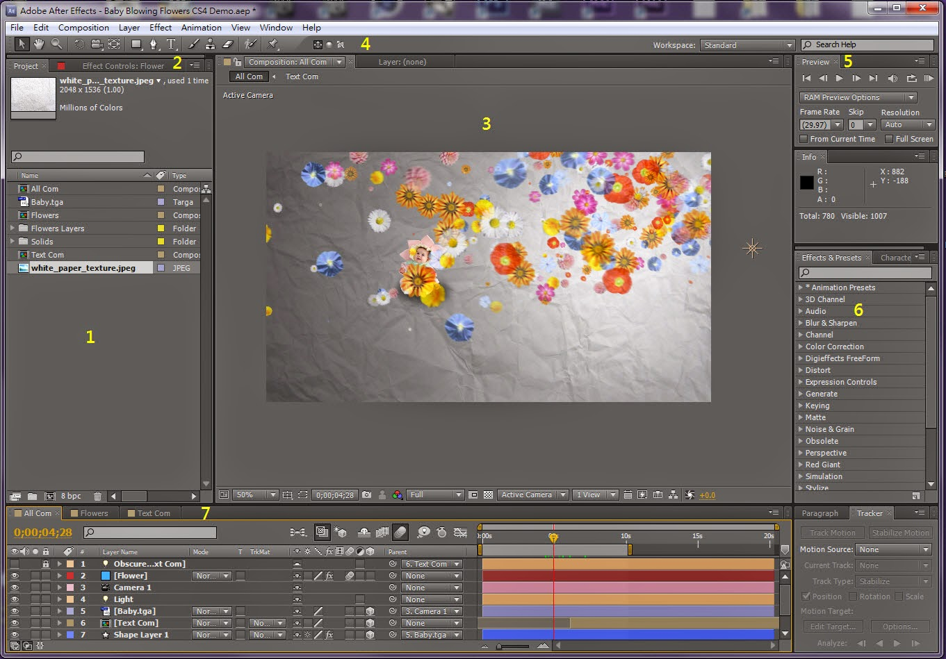 Interface Overview in AE 02