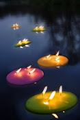 A flote.