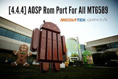 AOSP (4.4.4) ROM For All MTK 6589 Devices