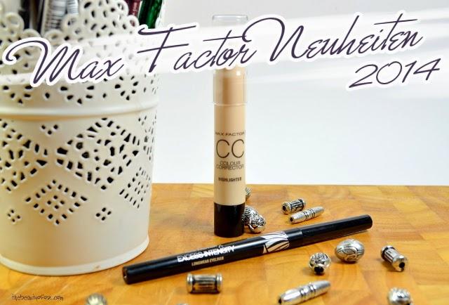 Max Factor Neuheiten 2014