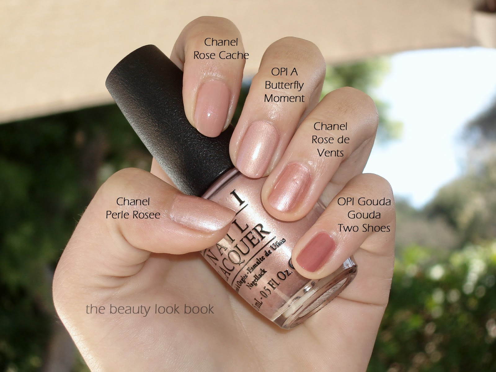 OPI - A Butterfly Moment | The Beauty Look Book