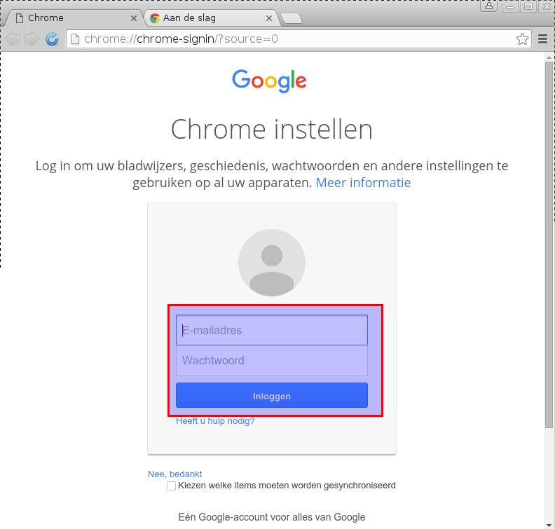 andere browser instellen