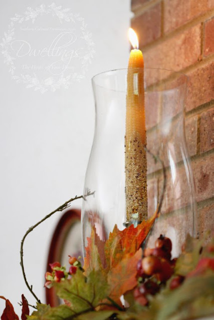 Creating Fall Candles