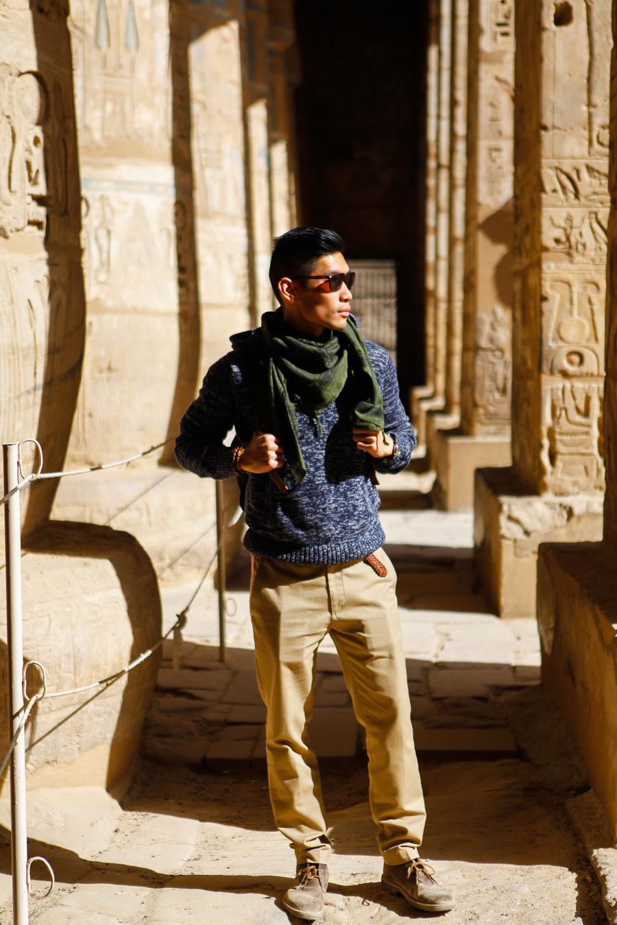 Levitate Travel Luxor, Egypt | Clark's Desert Boots