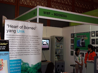 stand: WWF in indogreen forestry expo