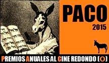8ª edición PREMIOS PACO