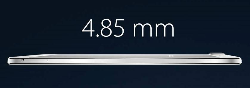 Which is the thinnest smartphone of 2014?