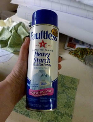 Secret Weapon: Spray Starch
