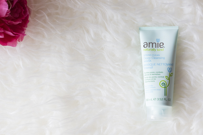 amie skincare spring clean deep cleansing mask review