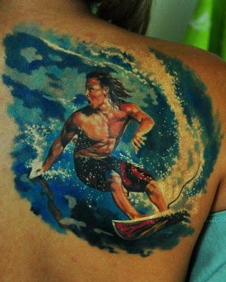 Surf Tattoo - Tatuagem de Surfe