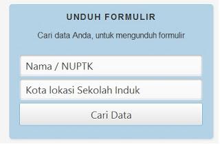 Prosedur dan Aktifasi Verval NUPTK bagi PTK 2013