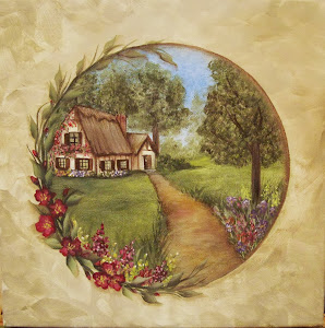 English Cottage Landscape Class