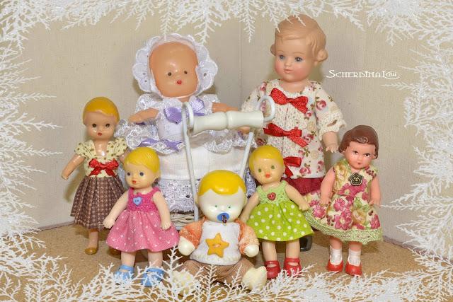пупсики, игрушки СССР, винтажные куклы