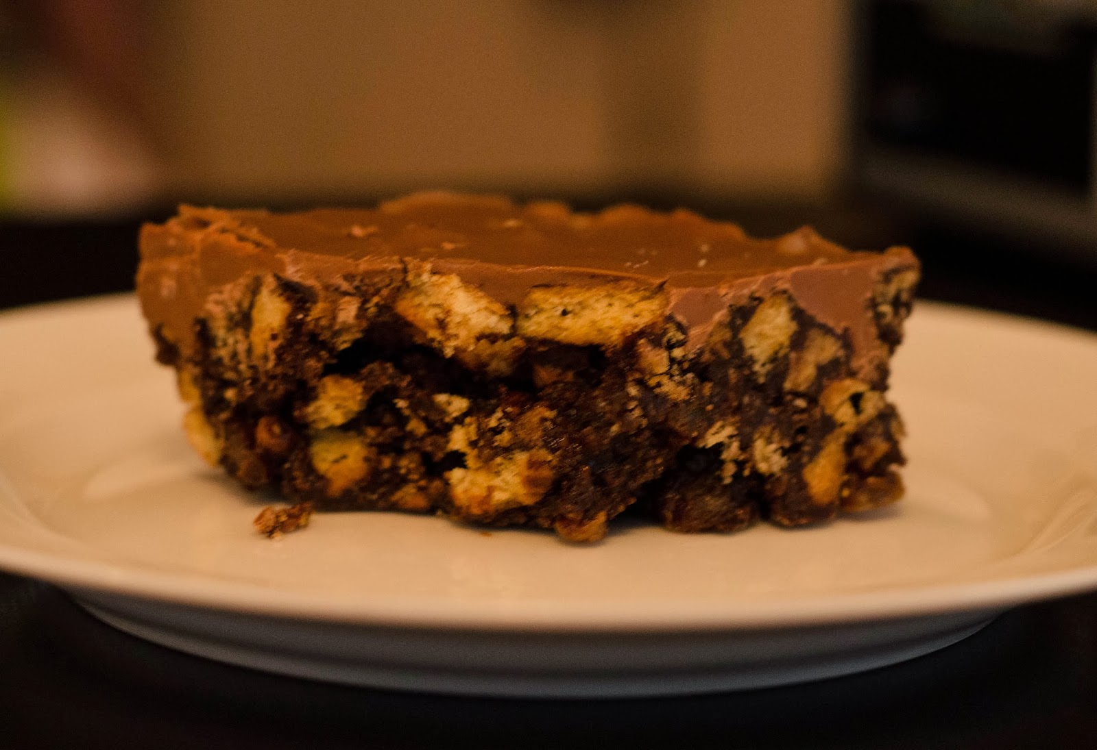 Chocolate Tiffin Recipe — Dishmaps