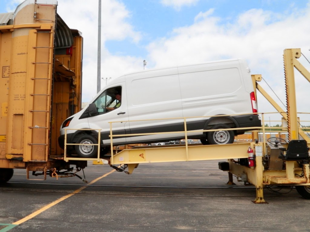 Ford Modifies Railcars to Ship New Ford Transit Van