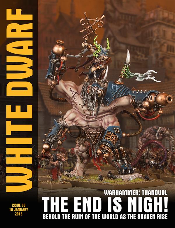 White Dwarf Weekly número 50 de enero