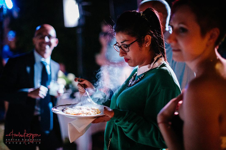 ospite matrimonio risotto