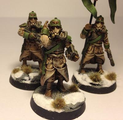 Death Korps of Krieg HQ Command Squad
