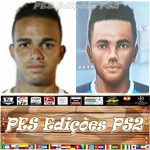 Luan (Grêmio) e Brasil PES PS2