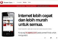 Kode-Kode Rahasia Opera Mini Mobile