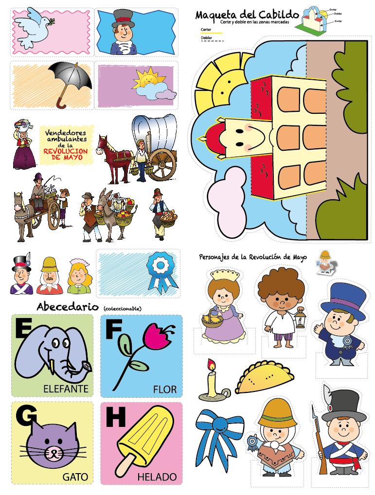 Ilustrador daniel pereyra did ctica for Actividades para jardin de infantes para imprimir