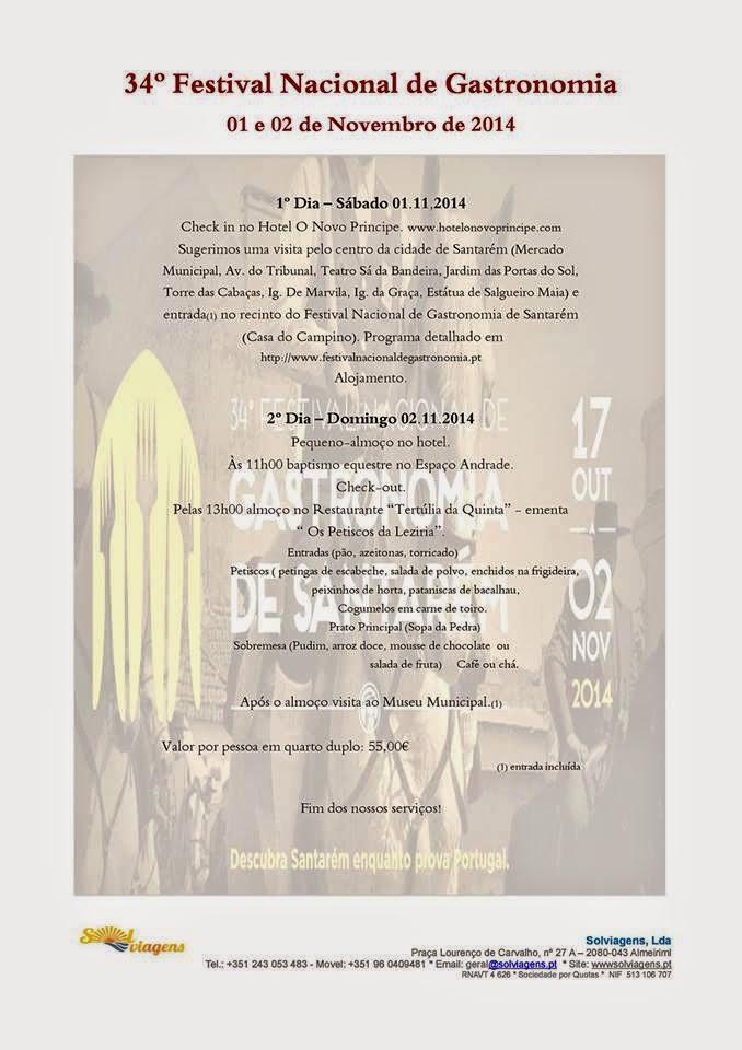 34º festival de Gastronomia