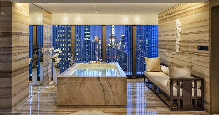 Presidential Suite at the Mandarin Oriental in Pudong