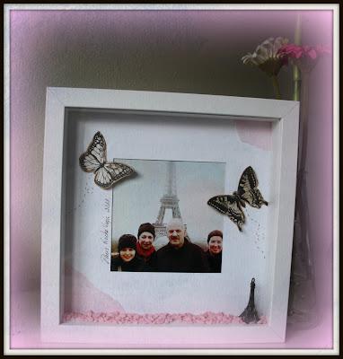 Patricia 39 s scrap marco de ikea - Ikea marcos cuadros ...
