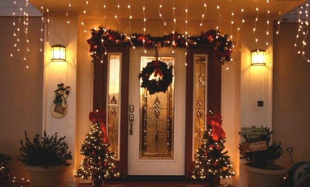 Ecopinturas fernandez los exteriores de casa en navidad - Decorar en navidad la casa ...