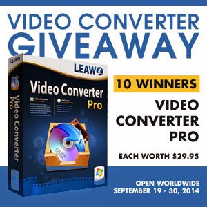Video Converter Pro Worldwide Giveaway