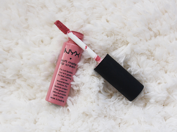 nyx soft matte lip cream Istanbul swatch review