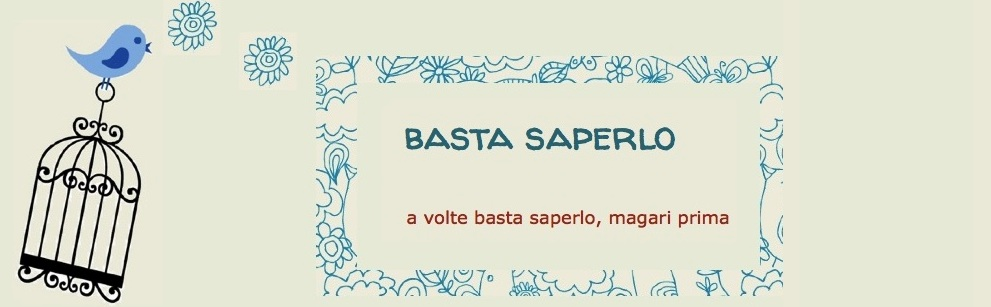 basta saperlo