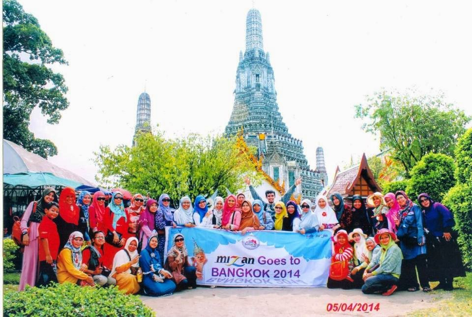 Mizan Goes To Bangkok, April 2014