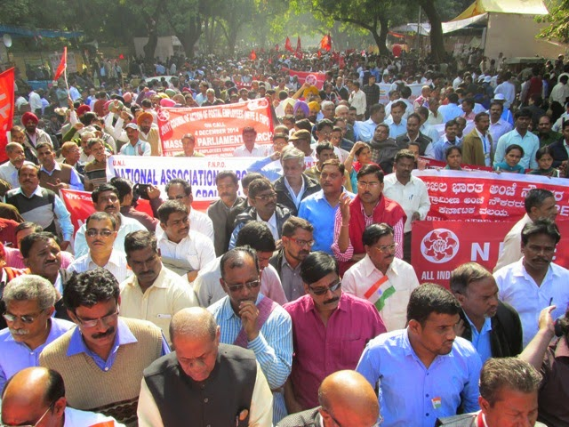 INDEFINITE STRIKE FROM 6TH MAY 2015 BY JCA POSTAL